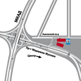 Проезд 607 (промзона), район строгино, москва